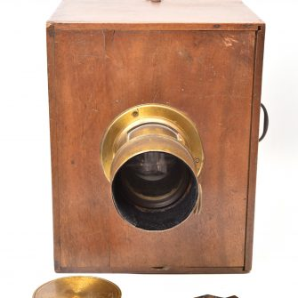 French collodion sliding box L. Puech