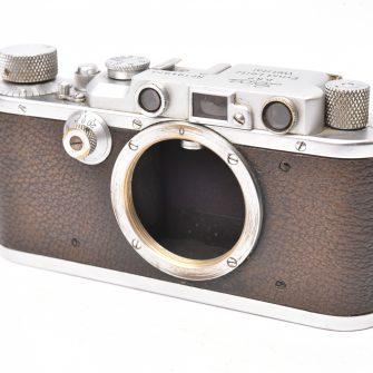 Appareil photo Leica IIIa. Boitier seul. Circa 1936.