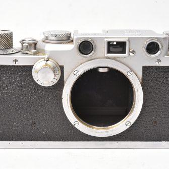Appareil photo Leica IIIf. Boitier seul. #584631.
