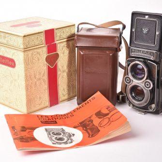 Rolleiflex 3,5 F model 3