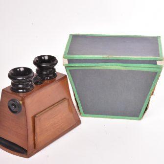 Stéréoscope 8,5×17 attribué à Mattey