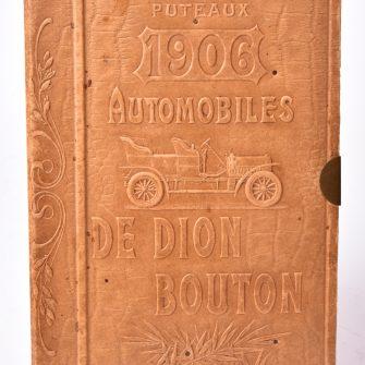 Stéréoscope-livre publicitaire de Dion Bouton