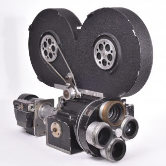 Cine camera 35 mm W. Vinten Ltd. Model H
