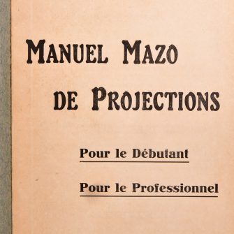 Manuel Mazo de projection