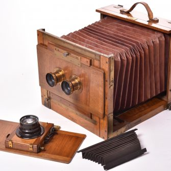 Chambre photographique Mackenstein Mono – Stéréo 18×24