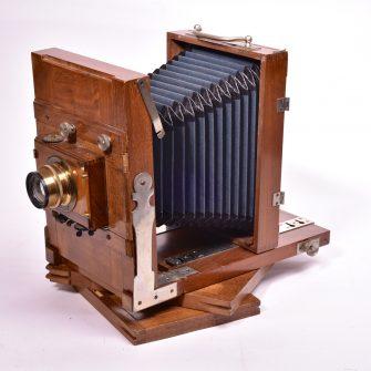 Chambre photographique de voyage 13×18