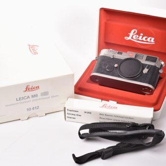 Leica M6 Titanium 10412