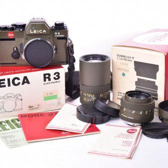 Leica R3 SAFARI Olive