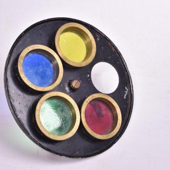 Mazo Disque tournant multicolore