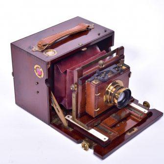 Chambre photographique coffret format 9×12 cm