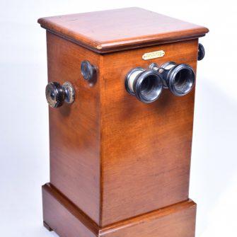 Jules RICHARD – Stéréoscope de Table pour diapositifs 45×107