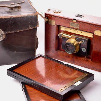 Folding Camera Gaumont Block-System