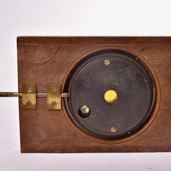 Plaque à système pour lanterne magique. Astronomie.