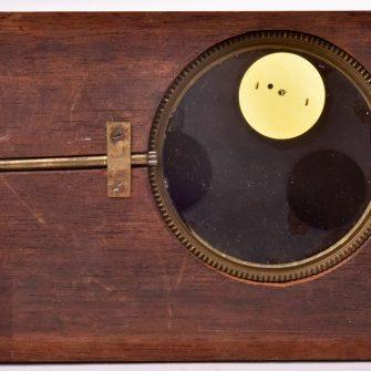 Plaque de lanterne magique à système. Eclipse