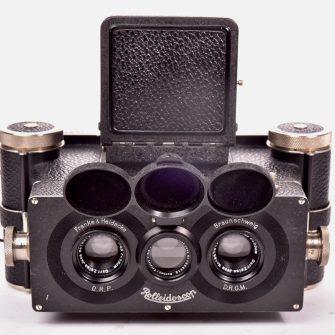Stereo camera Franke & Heidecke Rolleidoscop 6×13