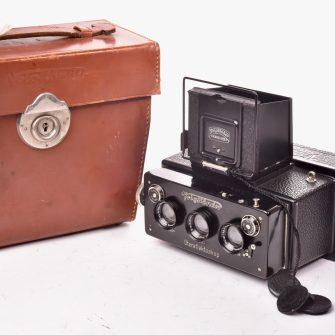 Stereo camera Stereflektoskop 6×13 Voigtländer & Sohn