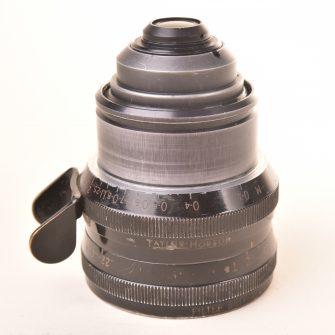 Objectif Taylor & Hobson Cooke Kinétal T2 f/1.8 – 25mm. #572676.