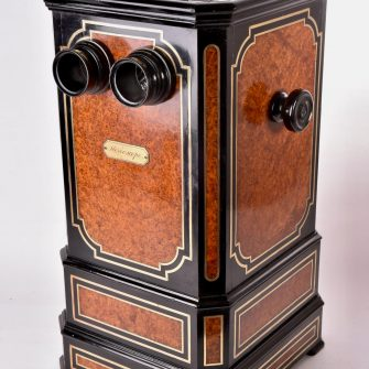 Luxueux stéréoscope de table Napoléon III