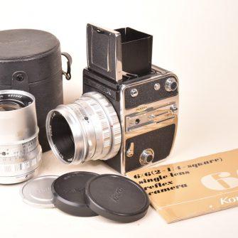 KOWA Six, 6×6, Moyen Format, Objectifs 55mm et 85mm