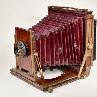 Chambre photographique modèle anglais