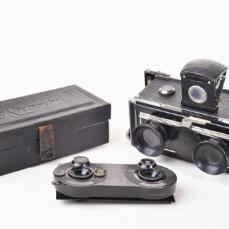 Stereo camera / viewer Rietzschel-Kosmo-Clack 45×107