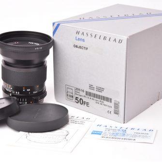 Objectif Hasselblad Carl Zeiss Distagon FE T* f/2.8 – 50mm. FLE.