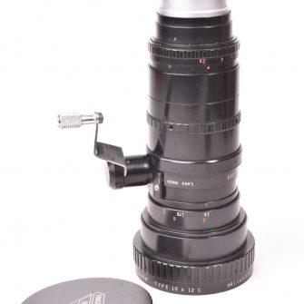 Objectif Angénieux – Zoom type 10×12 C f/2.2 – 12-120mm #1168370.