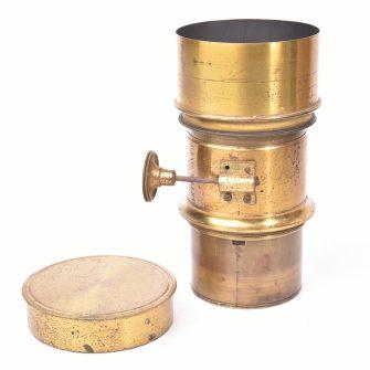 Brass lens Alexis Millet