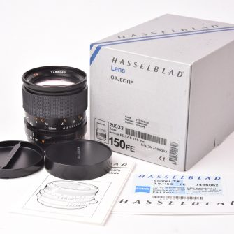 Objectif Hasselblad Carl Zeiss Sonnar FE T* f/2.8 – 150mm.