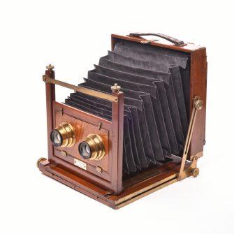Chambre photographique stéréoscopique Archer & Sons