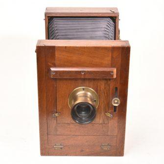 Chambre photographique Collodion sec 13×18