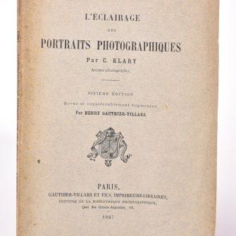 L'Éclairage des portraits photographiques, C. Klary