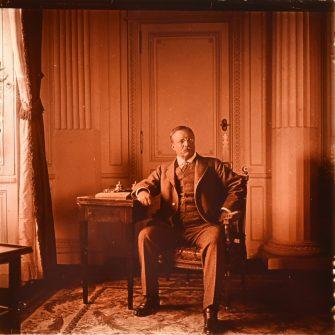 Vue Stéréoscopique, Theodore Roosevelt