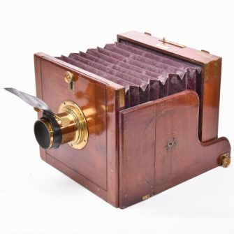 Folding camera Dallmeyer