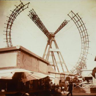Démantèlement de la Grande Roue de Paris en 1937
