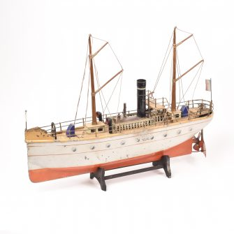 Two Mast Mixed Cargo Boat, Carette