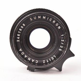 Leica Summicron 35 mm F2. #2461608