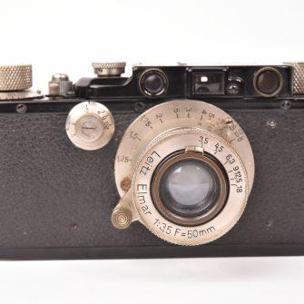 Leica III Black Paint with Nickel Elmar  50mm/3.5