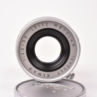 Objectif Leitz Wetzlar. Elmar 50mm f/2.8.Leica M mount .
