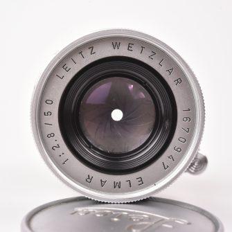 Objectif Leitz Wetzlar. Elmar 50mm f/2.8.
