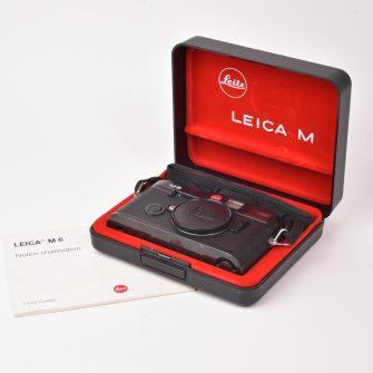 Leica M6. Coffret