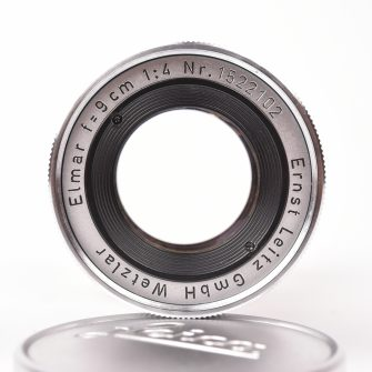 Objectif Leitz Wetzlar. Elmar. 90mm f/4. Leica M mount.