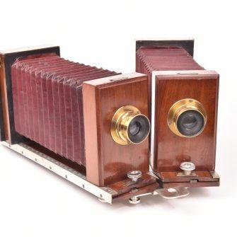 Le BI ou Ophtalmostéréoscope du Docteur Etienne Destot construit par Chorretier
