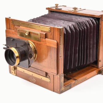Chambre photographique Mackenstein 13×18
