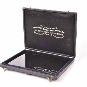 Miroir Noir dit «de Claude» ou «Lorrain» 11 x 14cm