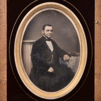 Daguerréotype quart de plaque par Ferdinand Vitagliano, Marseille