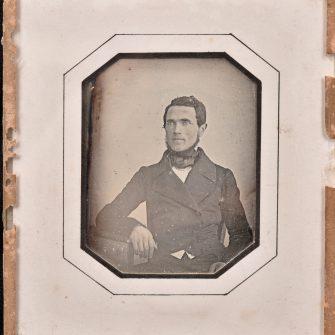 Daguerréotype quart de plaque, Portrait de jeune homme par Pillas